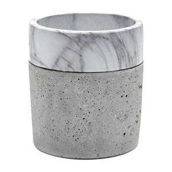 Marble & Concrete Border Pot