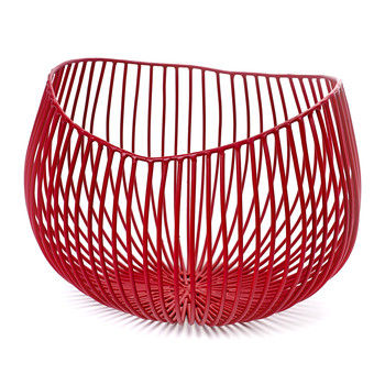 Profond Gio Decorative Bowl - Red