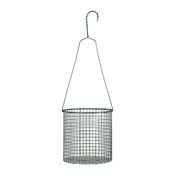 Marie Wire Hanging Pot - Army Green