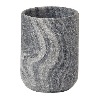 Flint Toothbrush Holder - Silver Grey