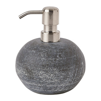 Flint Soap Dispenser - Silver Grey