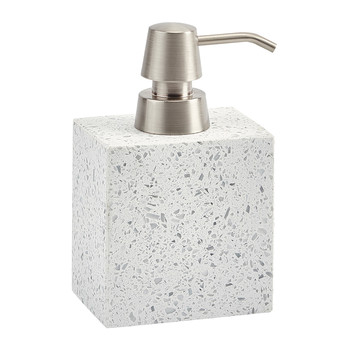 Quartz Soap Dispenser - White