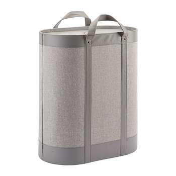 Blix Laundry Basket - Grey