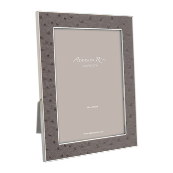 Urban Faux Ostrich Photo Frame