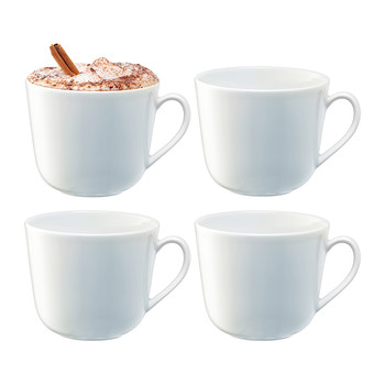 Dine Curved Mug - Set of 4