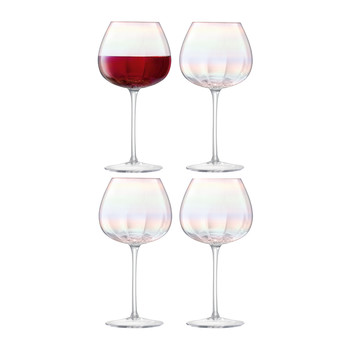 Pearl Red Wine Glass - Set of 4