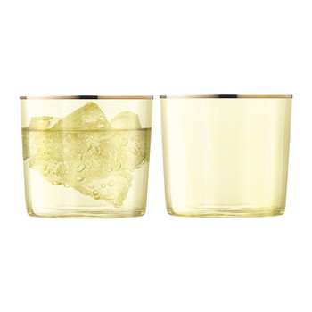 Sorbet Tumbler - Set of 2 - Lemon