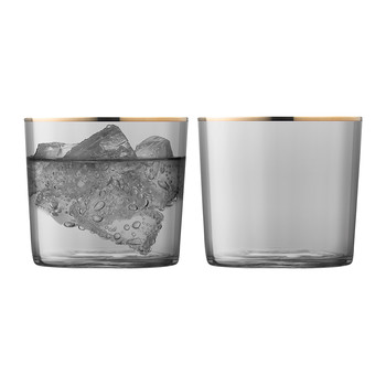 Sorbet Tumbler - Set of 2 - Liquorice