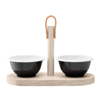 Utility Tapas Duo Set - Black Pepper/Ash