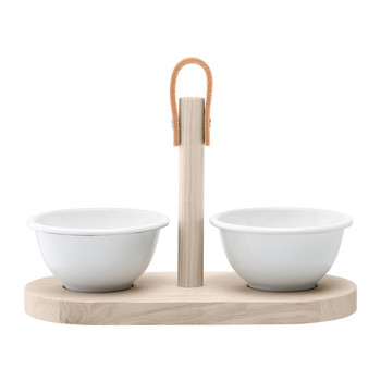 Utility Tapas Duo Set - Milk White/Ash