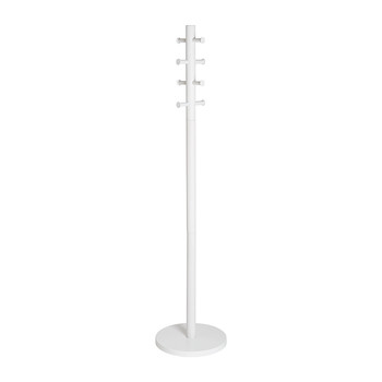 Pillar Coat Rack - White