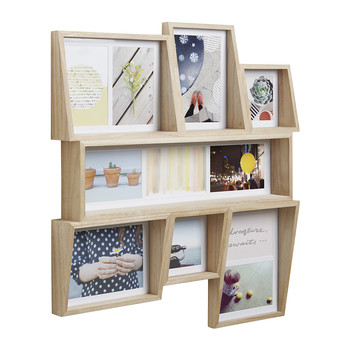 Edge Multi Photo Display - Natural
