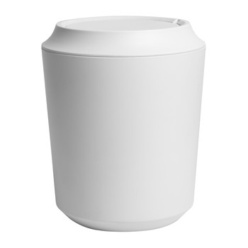 Corsa/Kera Can with Lid - White