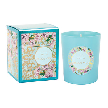Scented Candle - 190g - Acqua Viva