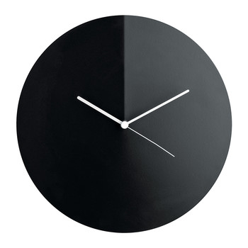 Arris Wall Clock - Black