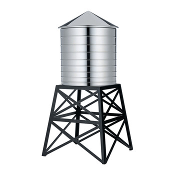 Water Tower Container - Black