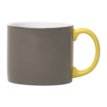 My Mug XL - Anthracite & Yellow