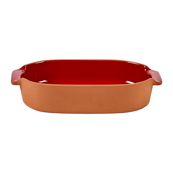 Bakeware Oval Oven Dish - Small - Red