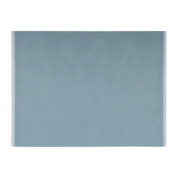 Fringe Rectangle Placemat - Blue