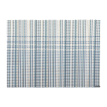 Grid Rectangle Placemat - Blue