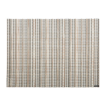 Grid Rectangle Placemat - Sand