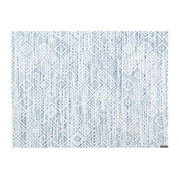 Mosaic Rectangle Placemat - Blue