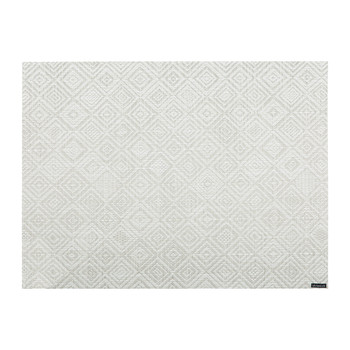 Mosaic Rectangle Placemat - Grey