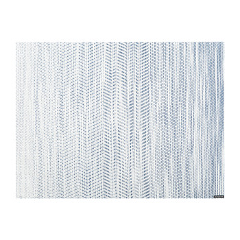 Wave Rectangle Placemat - Blue