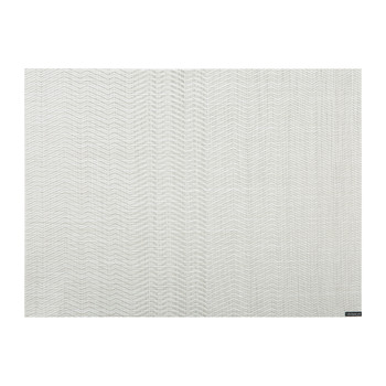 Wave Rectangle Placemat - Gray