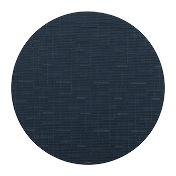 Bamboo Round Placemat - Lapis