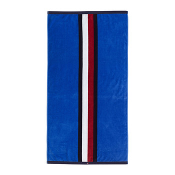 Velvet Start Beach Towel - Blue