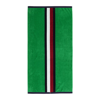 Velvet Start Beach Towel - Green