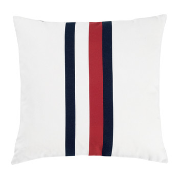 Printed Ribbon Cushion - 40x40cm
