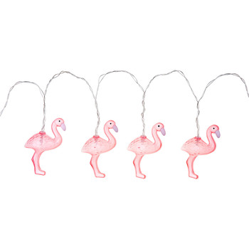 String Lights - Flamingo