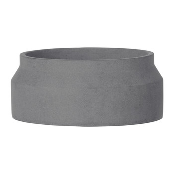 Concrete Pot - Small - Dark Grey