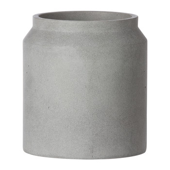 Concrete Pot - Small - Light Grey