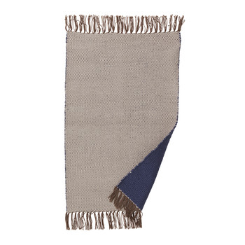 Nomad Rug - Small - Dark Blue