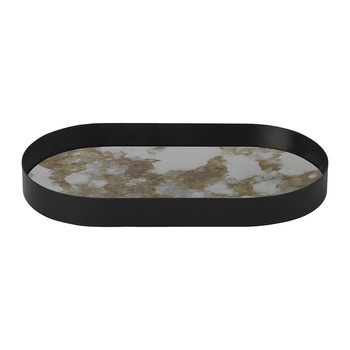 Oval Coupled Tray - Moss Green - Small