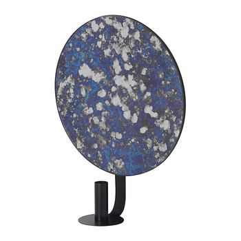 Wall Mounted Candle Holder - Blue