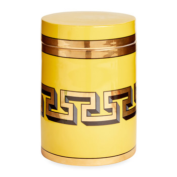 Mykonos Canister - Yellow