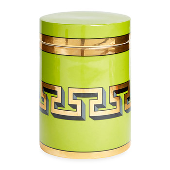 Mykonos Canister - Green