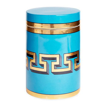 Mykonos Canister - Turquoise