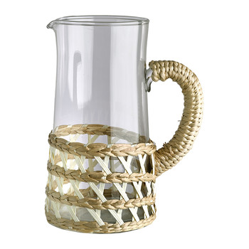Reed Glass Jug