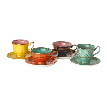 Grandpa Tea Set - Set of 4