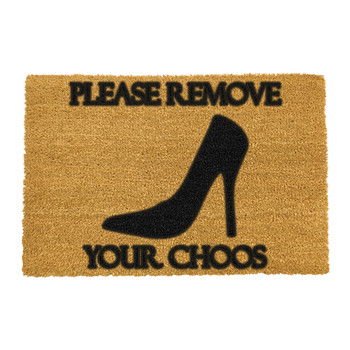 Please Remove Your Choos Door Mat