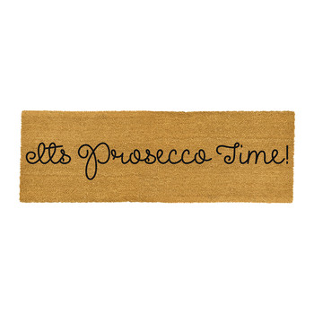 It's Prosecco Time Door Mat