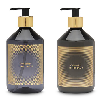 Eclectic Collection Orientalist Hand Duo - Set of 2 - 500ml