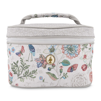 Spring To Life Large Beauty Case - Off-White