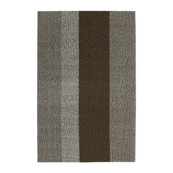 Large Stripe Shag Rug - Ash