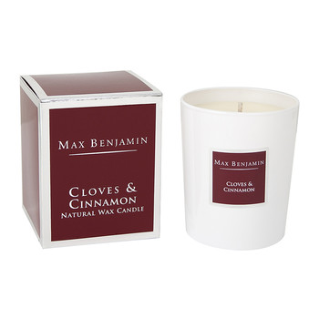 Scented Candle in Gift Box - Cloves & Cinnamon - 190g